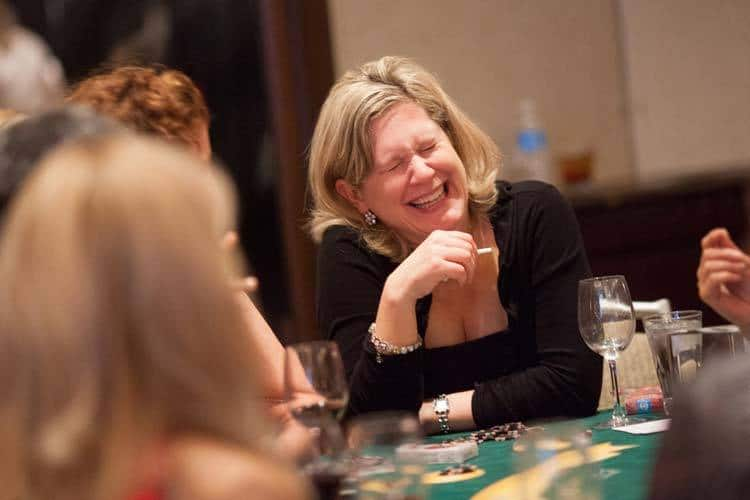 Everyone Will Be Smiling at Your Casino Charity Fundraising Party!