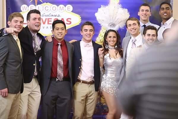 Casino Night Party at Pitt University