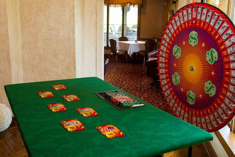 Casino Party Game | The Money Wheel