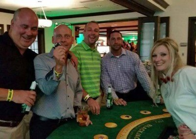 Party at the Blackjack table!