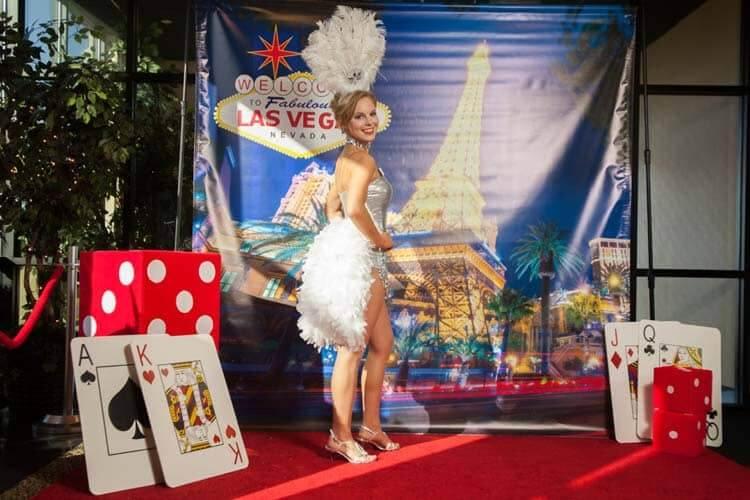 Casino Event Decor'