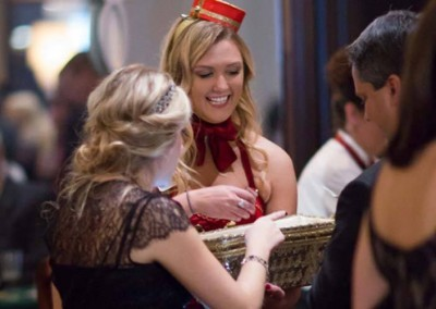 Our Cigarette Girls are a Great Addition to any Speakeasy Party!