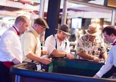 Put on Your Hats, and Meet Us at the Tables!