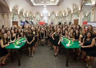 Get the Whole Group Together for a Casino Royale Party