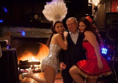 A Showgirl or a Cigarette/Candy Girl is the Perfect Touch to Any Holiday Party!