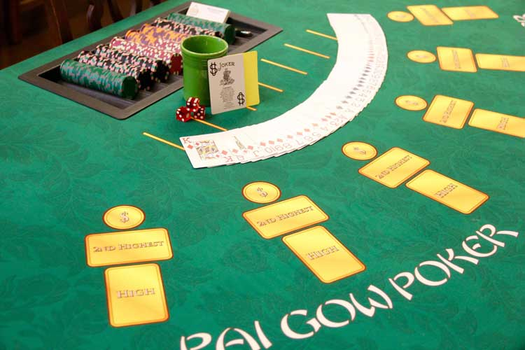 Casino Party Games | Pai Gow Poker