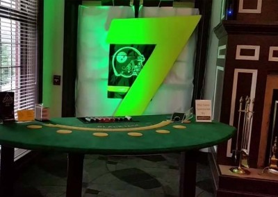 Blackjack 7 is ready to go for Steeler's number 7!