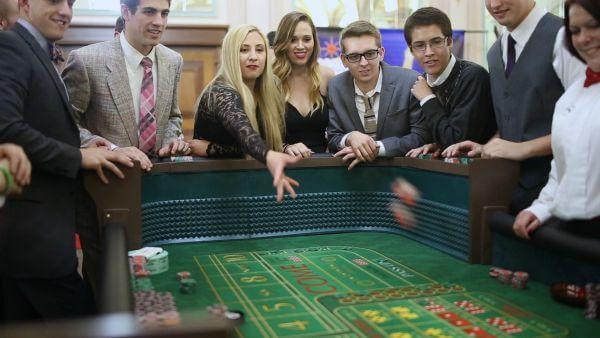 Craps keeps people on the 'edge of excitement!'