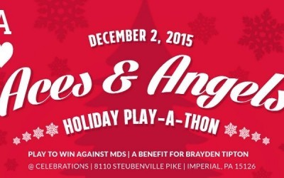 Aces & Angels Host a Holiday Play-A-Thon