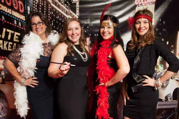 The Girls Are All Dolled Up On Working The Speakeasy Photo Booth