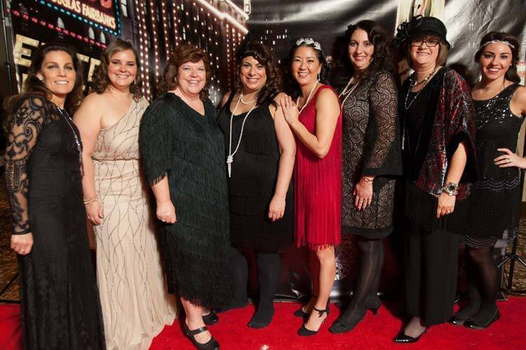 Red Shoe Ball Committee | Speakeasy Photo Booth Fun!