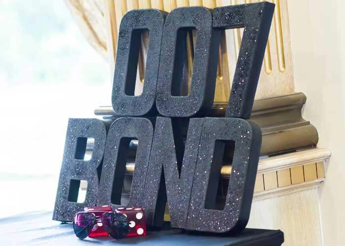 The james bond party 7 simple elegant affordable ideas for 007 decoration ideas