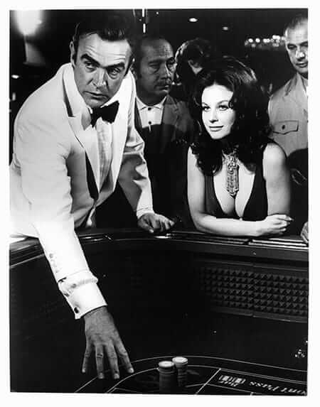 James Bond Party - 007 Playing Craps with 'Plenty' in Diamonds Are Forever