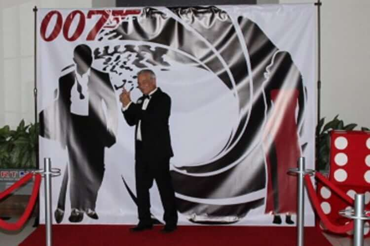 James Bond Backdrop