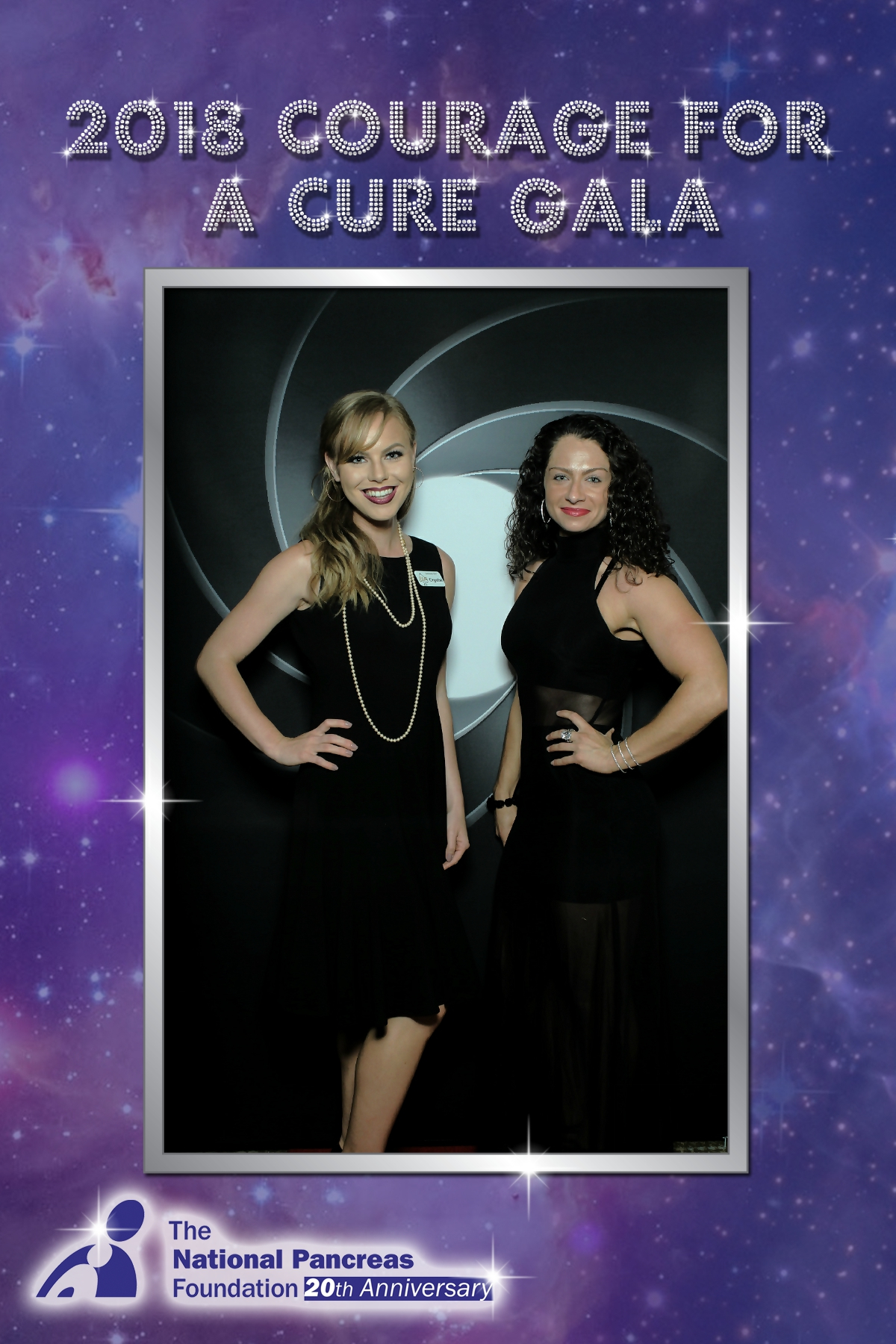 Crystal and Veronica at Black Tie Fundraiser in Pittsburgh