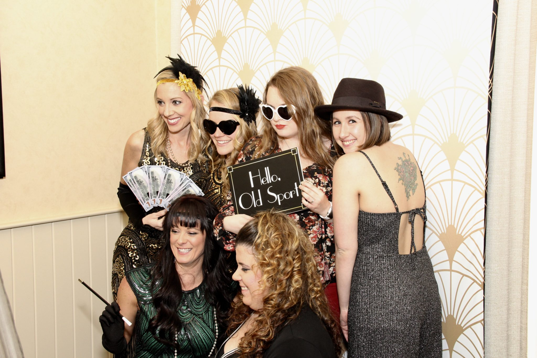 Art Deco Photo Booth