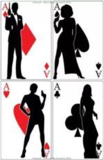 James Bond Party Aces Collection