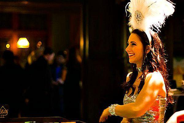 Elite Casino Events Showgirl Chelsea brings joy & happiness to every event!