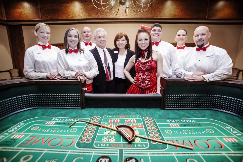 The Team - Ready For A Casino Night Party!