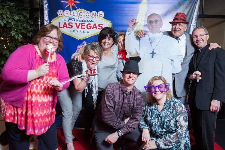 Our Showgirl on the Red Carpet | Las Vegas Photo Booth