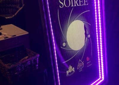James Bond Soiree | Mirror Booth