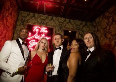 James Bond Casino Night Cake Nightclub Attendees