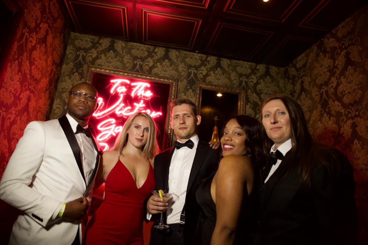 Cake Nightclub Attendees 007 Casino Royale