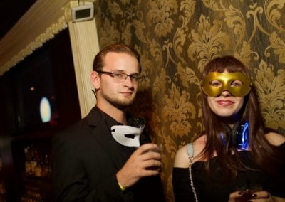 James Bond Soiree Masquerade Ball