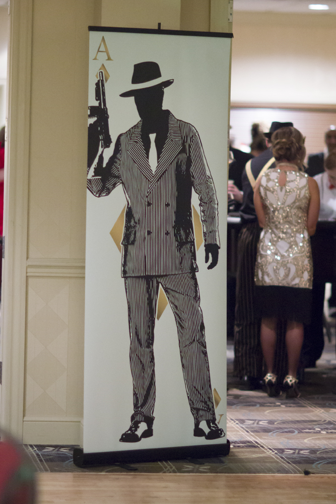 7ft Standees Gatsby Party