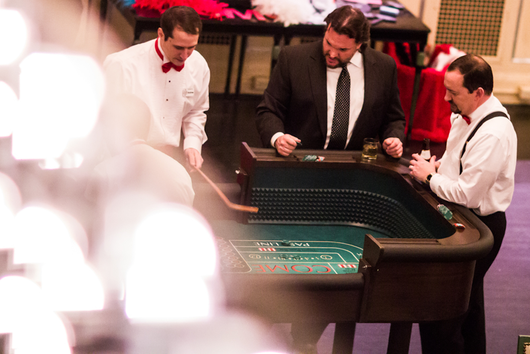 Gatsby Party Craps Table