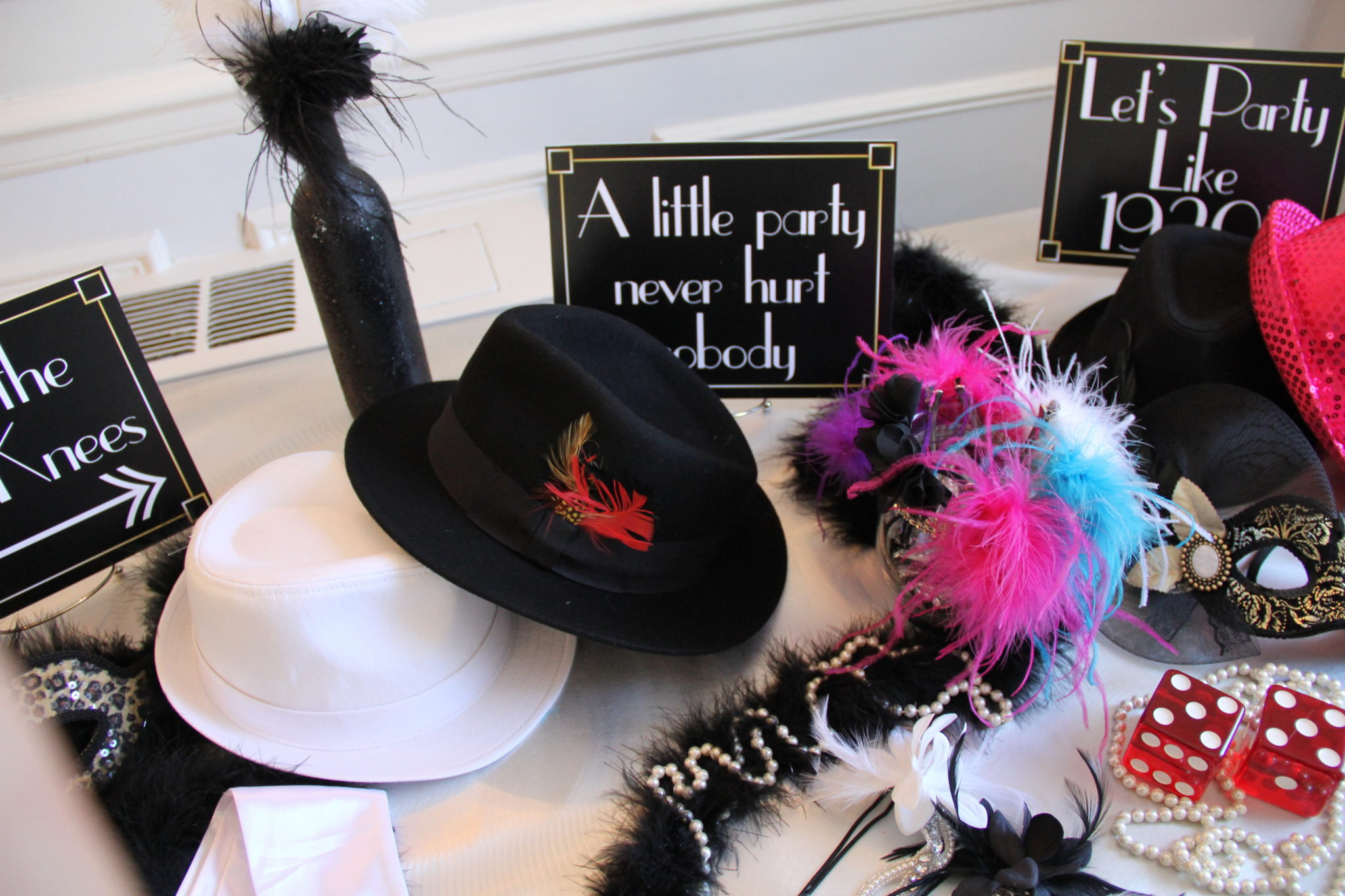 Gatsby Party Theme Props
