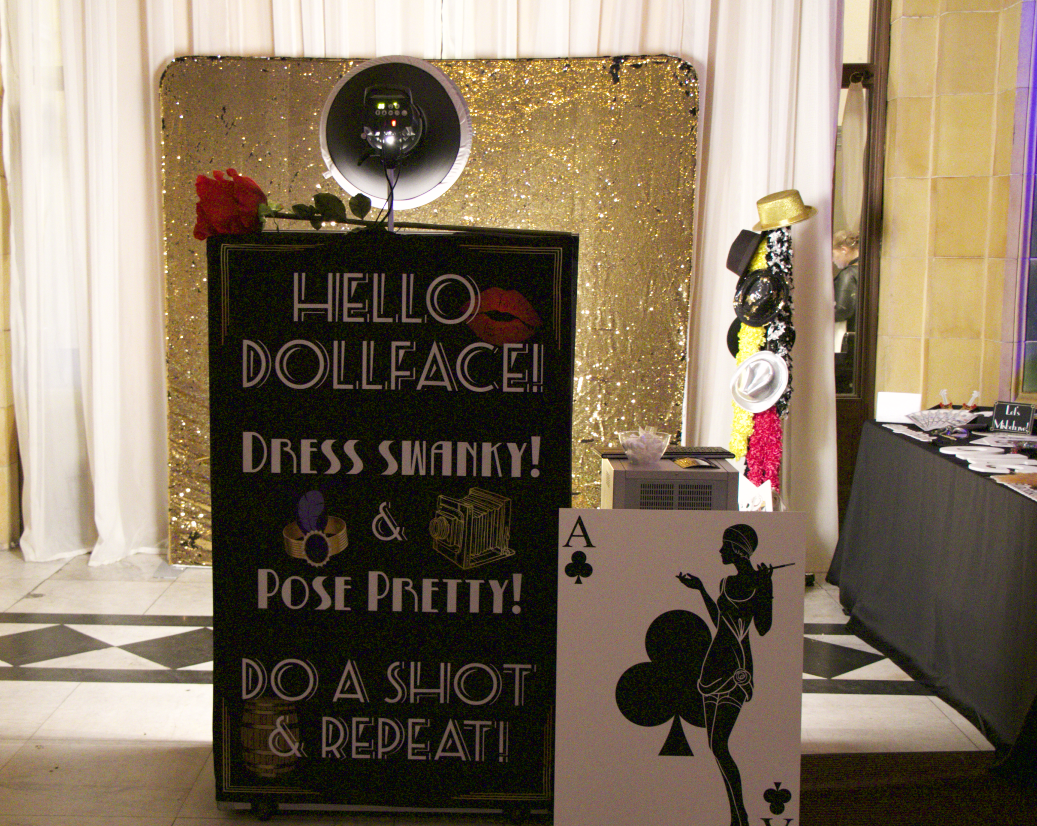 1920s Mirror Photo Booth