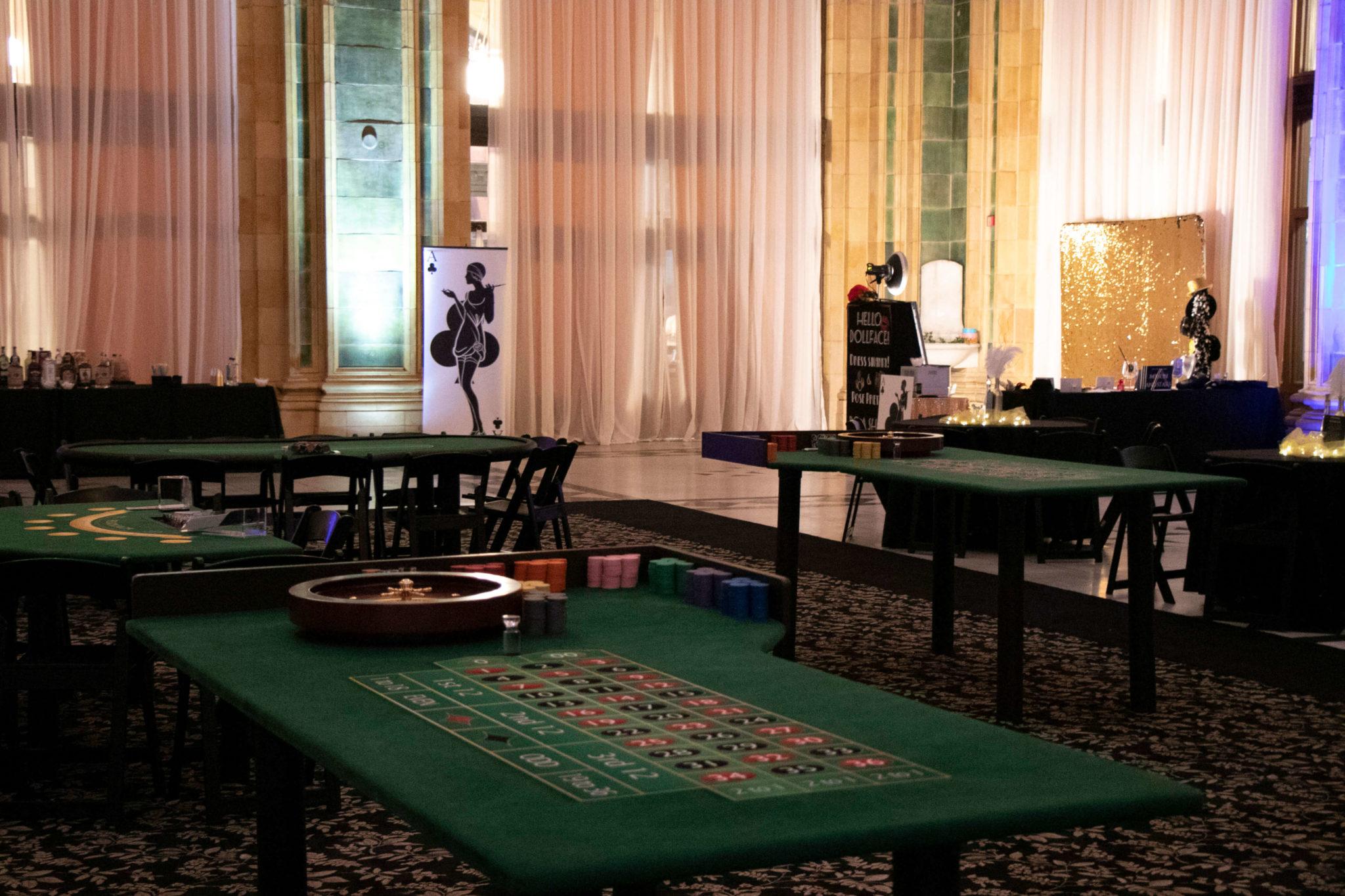 Art Deco Party Setup