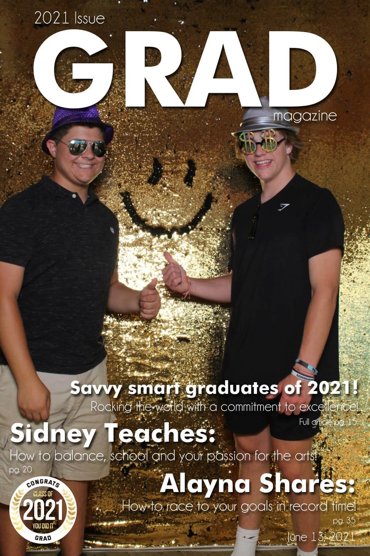 Grad Magazine Cover