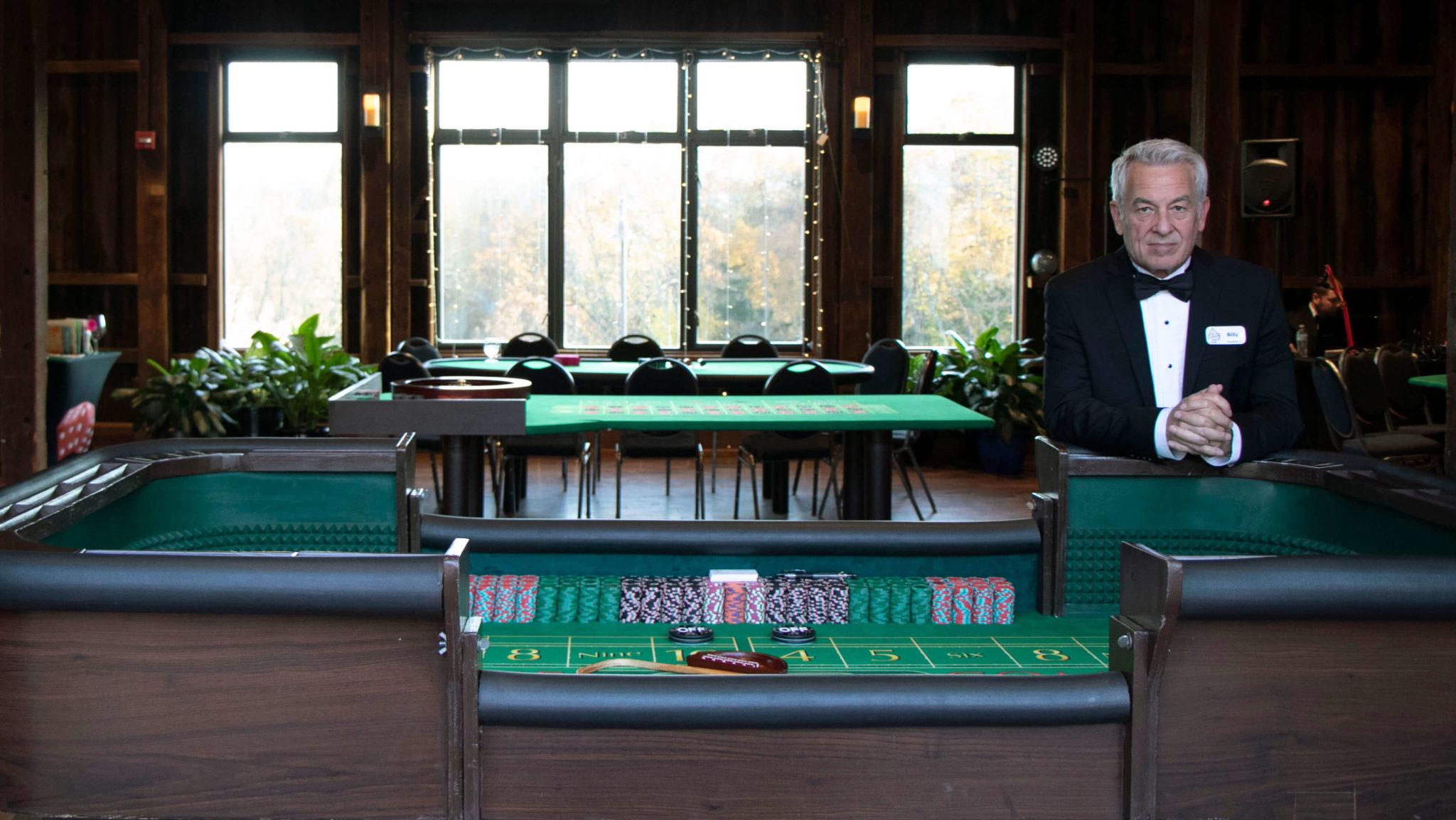 Craps casino party game