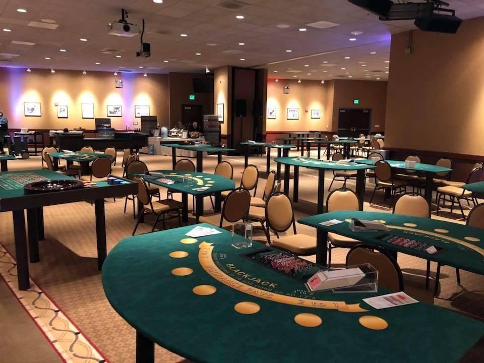Casino Theme Party Set Up