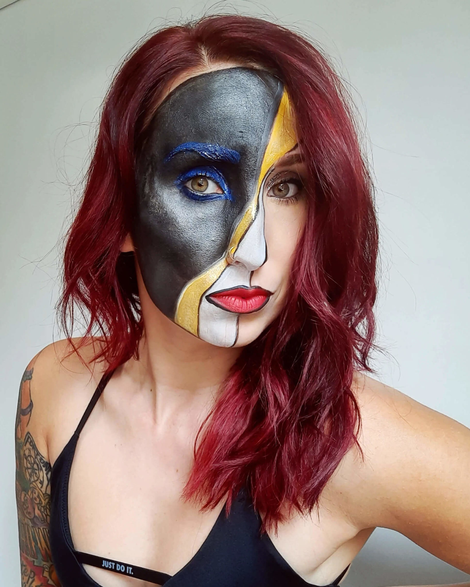 Pittsburgh Tailgating Face Paint
